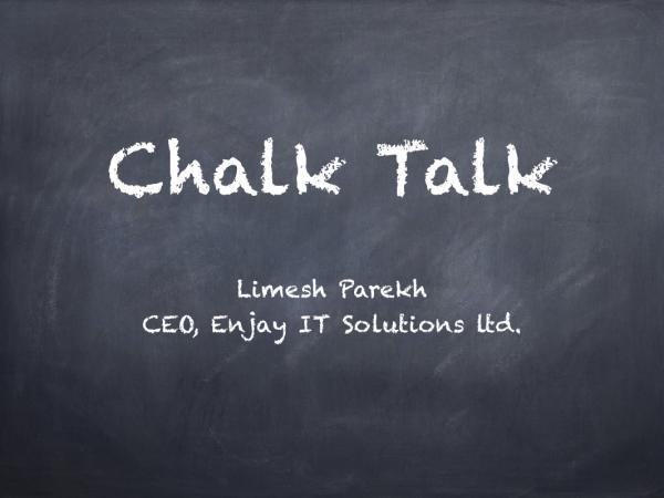 Chalk Talk Main Screen