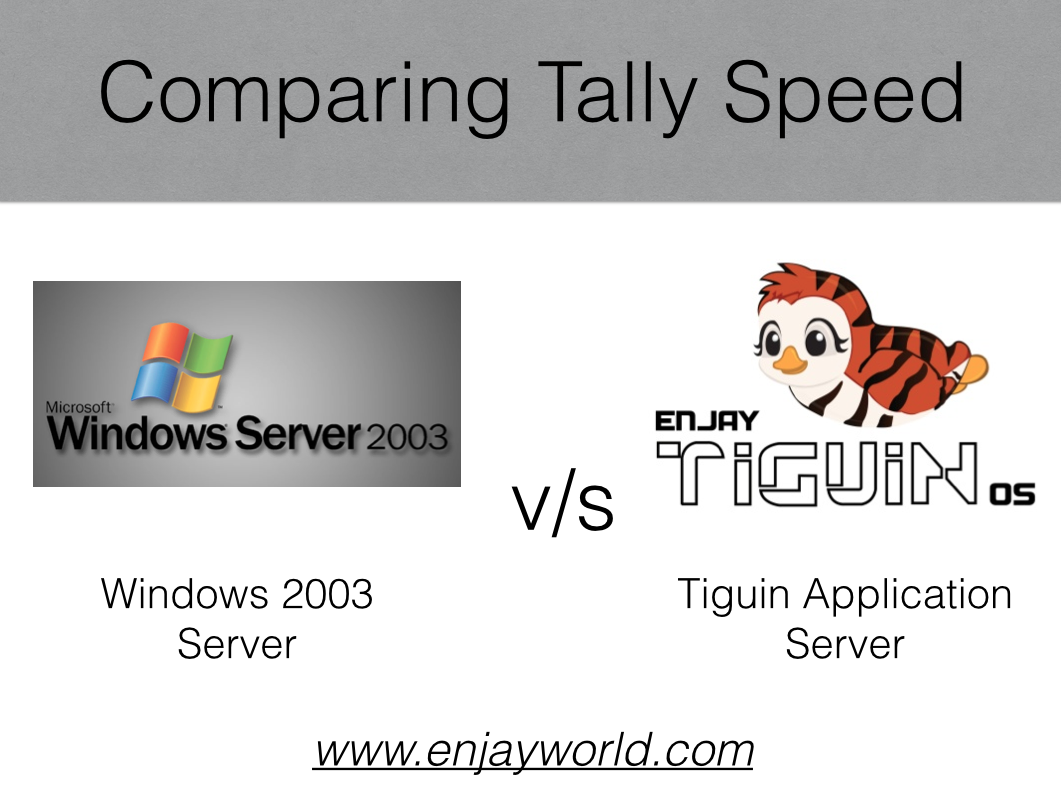 Tally runs faster on Linux